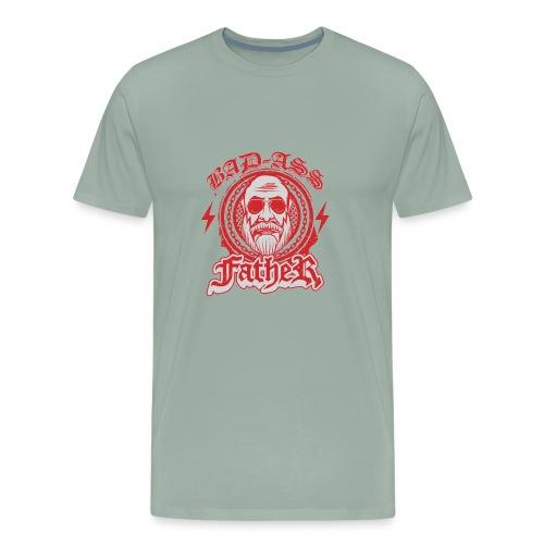 Bad-Ass Father - Men's Premium T-Shirt