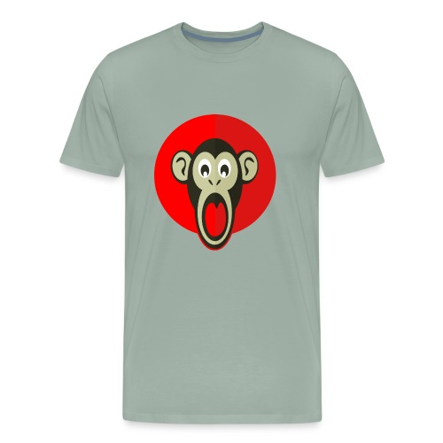 litlte monkey - Men's Premium T-Shirt