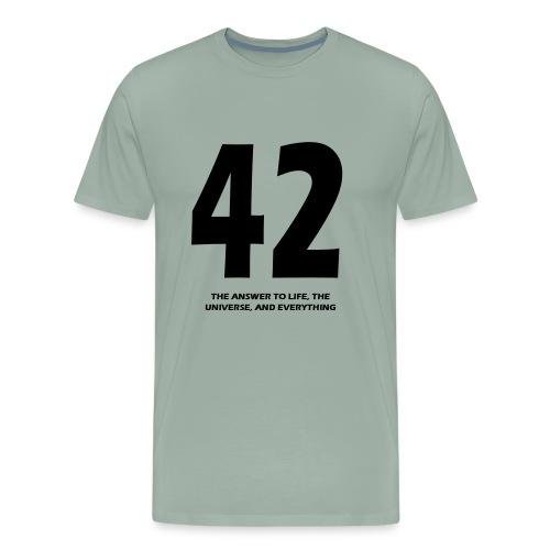 42 - Men's Premium T-Shirt