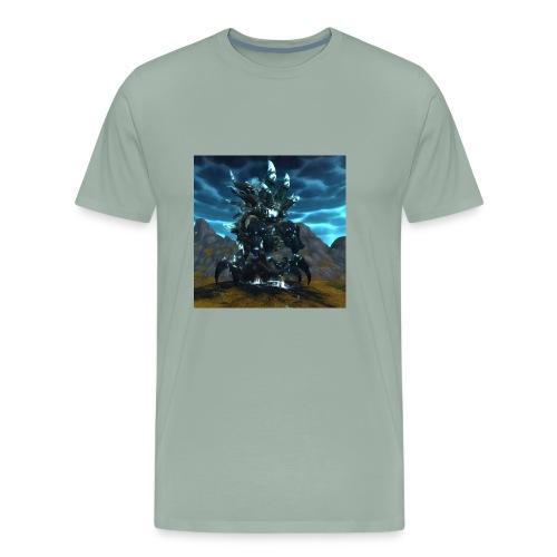 sha of anger wow - Men's Premium T-Shirt