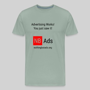 Advertising Works! - Men's Premium T-Shirt
