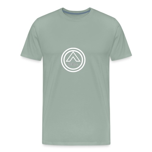 FIXED White logo BFox Fam - Men's Premium T-Shirt