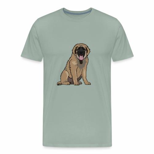 Adolescent Leonberger - Men's Premium T-Shirt