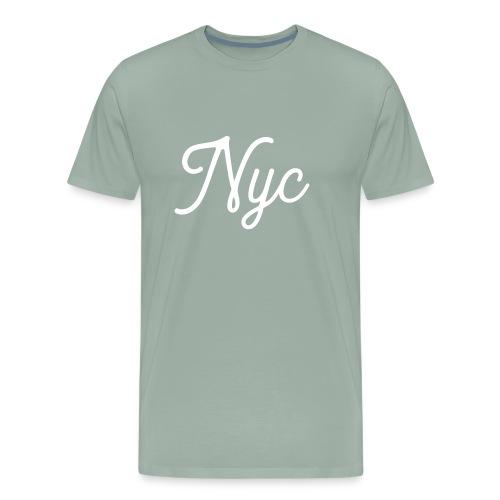 NYC Serif T-Shirt - Men's Premium T-Shirt