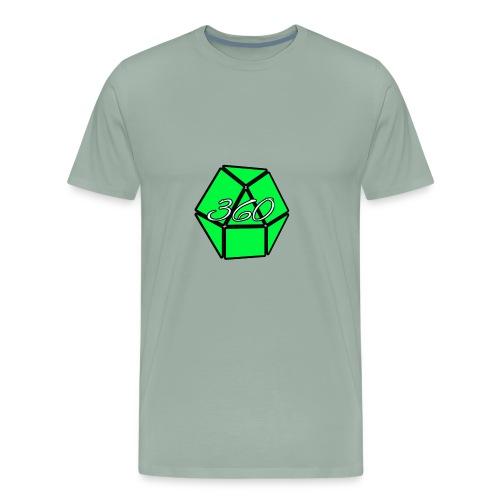 360Gameing Logo - Men's Premium T-Shirt