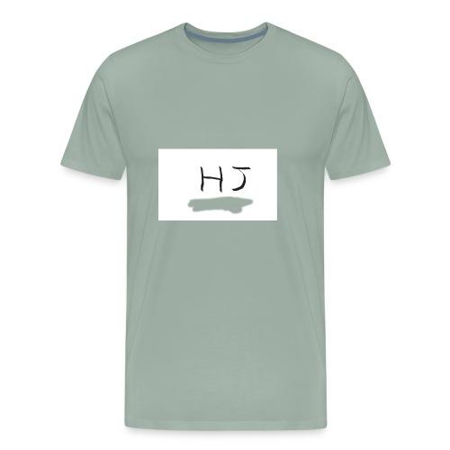 HJ small letter merch - Men's Premium T-Shirt