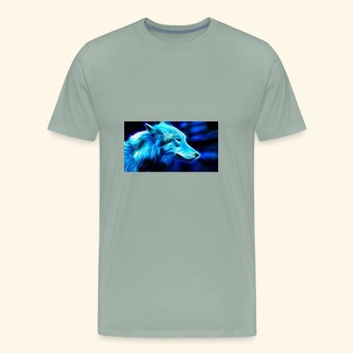 thekingwolf - Men's Premium T-Shirt