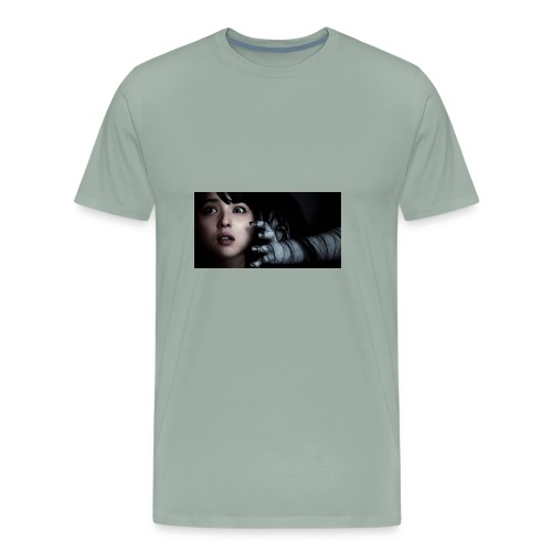 scary Asian horror movies - Men's Premium T-Shirt