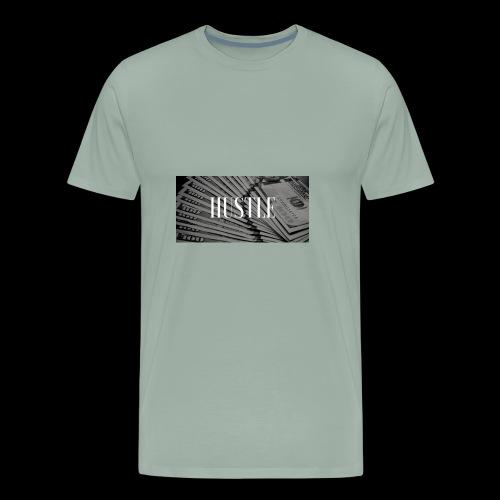 hustle - Men's Premium T-Shirt