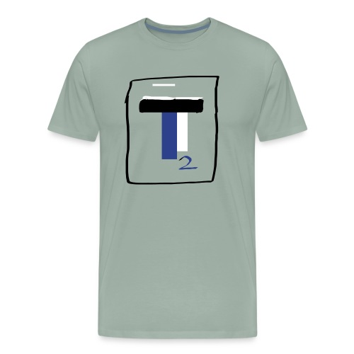 new T2 youtubers merch - Men's Premium T-Shirt