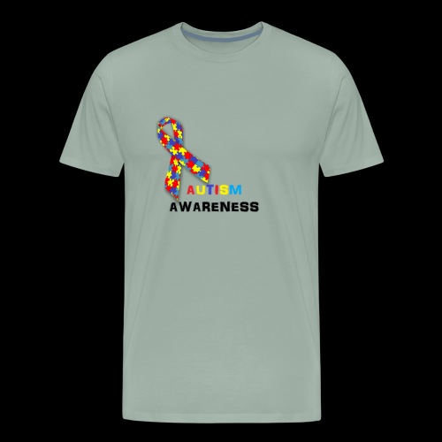 AutismRibbon - Men's Premium T-Shirt