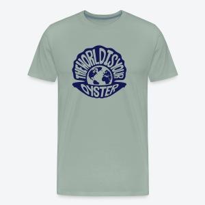 The World Is Your Oyster - Dark - Men's Premium T-Shirt