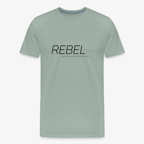 Rebel logo - Men's Premium T-Shirt