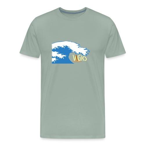 surfboard logo - Men's Premium T-Shirt