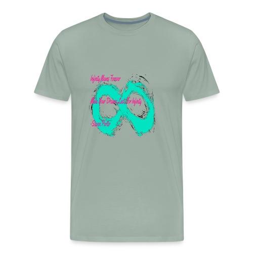 Infinity Quote Shirt | CreateMeInfinity - Men's Premium T-Shirt