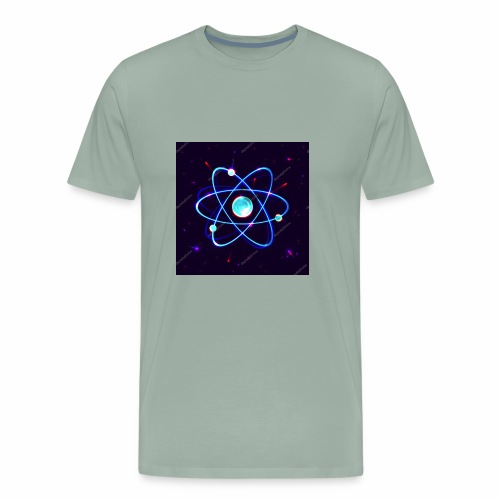 super atomic shirt - Men's Premium T-Shirt