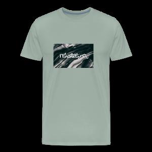 Nikstalgic - Wavy - Men's Premium T-Shirt