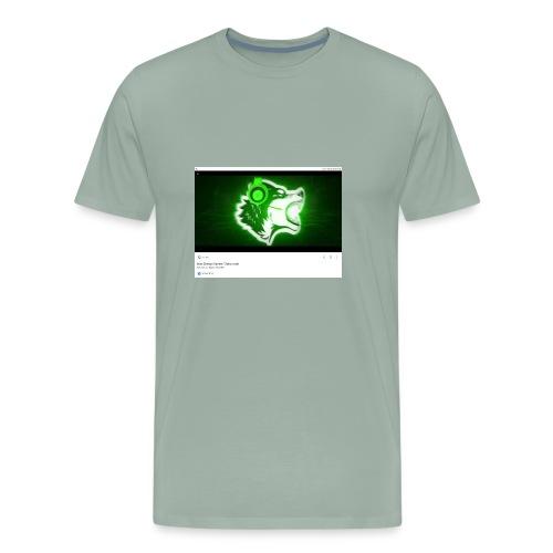 Wolf gamer - Men's Premium T-Shirt