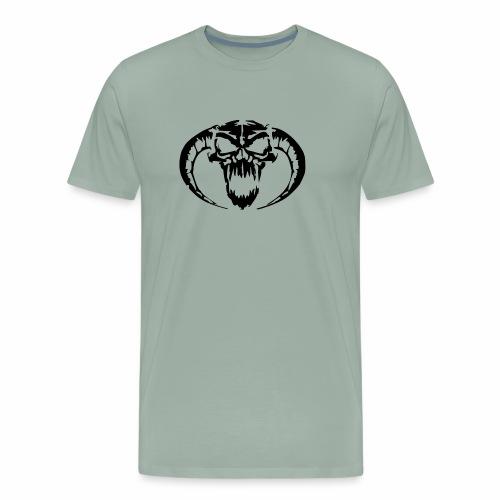 black skull - Men's Premium T-Shirt