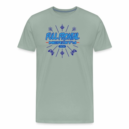 Full Frontal Nerdity Show Logo - Men's Premium T-Shirt