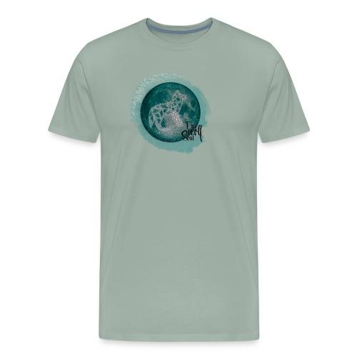 Galaxy Wolf - Free Wolf Soul - Men's Premium T-Shirt