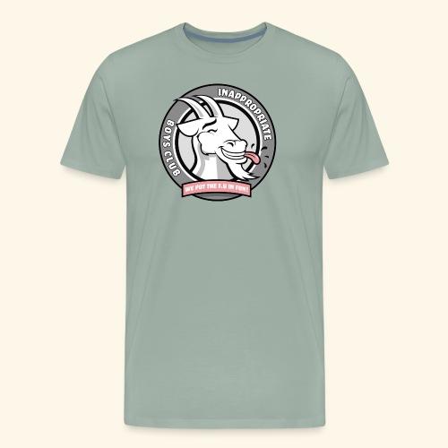 Inappropriate Boys Club - Men's Premium T-Shirt