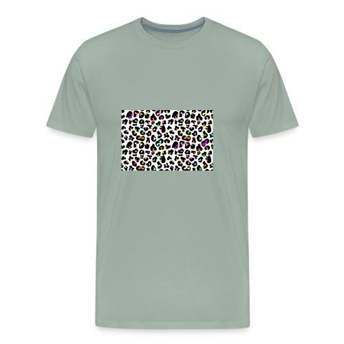 Colorful Animal Print - Men's Premium T-Shirt