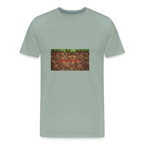 Golden Logo - Men's Premium T-Shirt