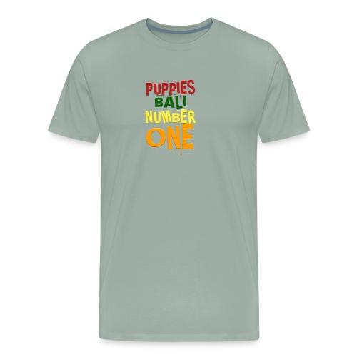 Puppies Bali Number One - Men's Premium T-Shirt