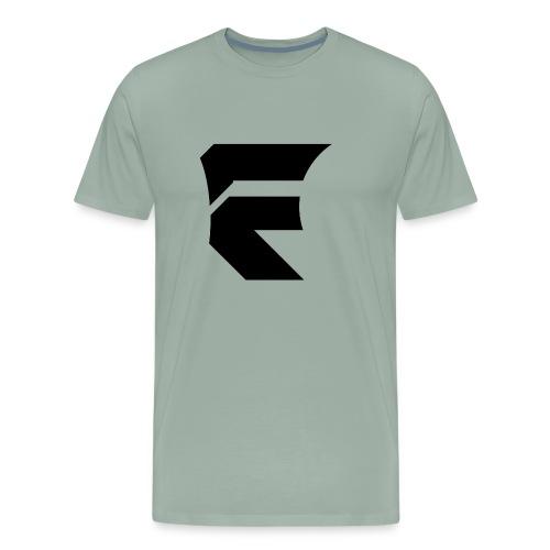 Fallen Logo PNG Black - Men's Premium T-Shirt
