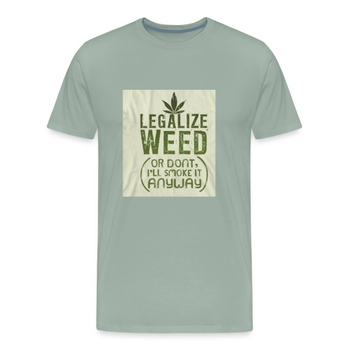 Legalize Weed - Men's Premium T-Shirt