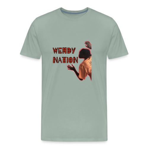 wendy nation sees you t - Men's Premium T-Shirt