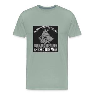when minutes count - Men's Premium T-Shirt