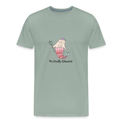 actuallyapurrmaidpng - Men's Premium T-Shirt