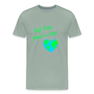 LOVE WORLD PLANET MOTHER EARTH HERAT - Men's Premium T-Shirt