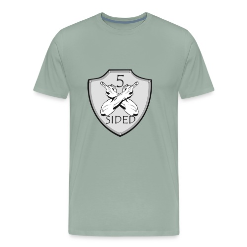 5 sided x 3 - Men's Premium T-Shirt