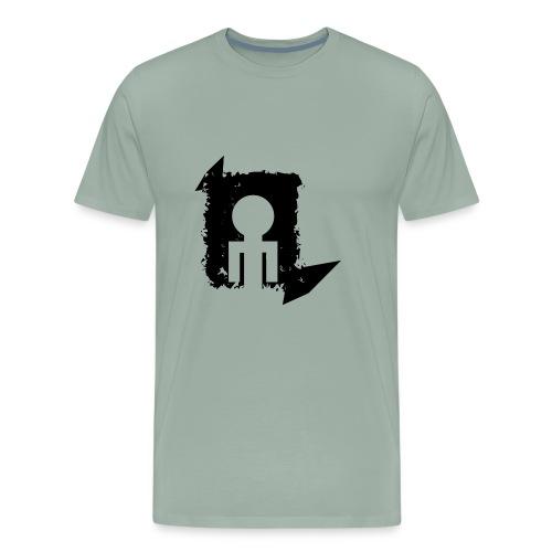 Black World - Men's Premium T-Shirt