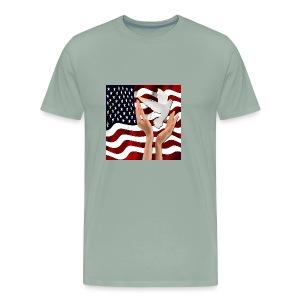 Peace in America - Men's Premium T-Shirt