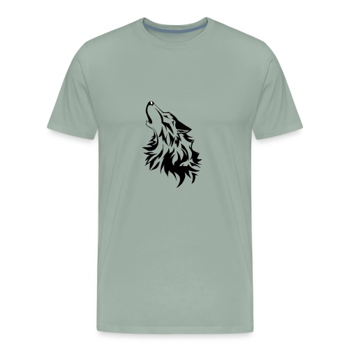 Coyote Howling - Men's Premium T-Shirt