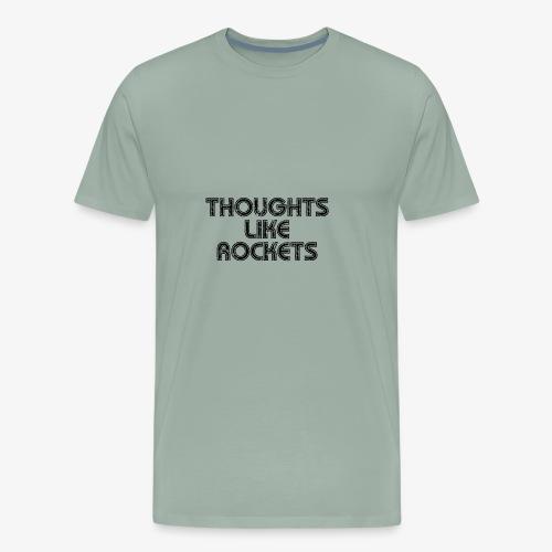Name in Retro Font - Men's Premium T-Shirt