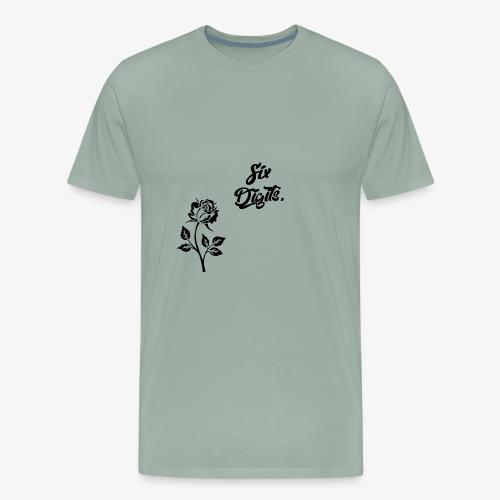Six Digits Rose - Men's Premium T-Shirt