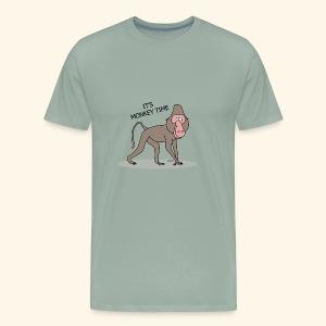 It's Monkey Time - Men's Premium T-Shirt