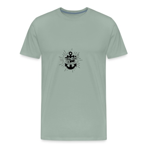 Lake Hair don't Care - Men's Premium T-Shirt