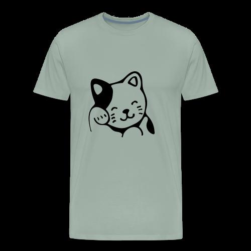 Lucky Kitty - Men's Premium T-Shirt