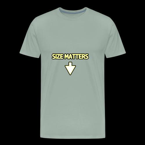 Size Matters - Guys - Men's Premium T-Shirt
