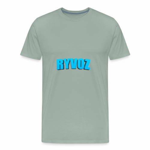 Ryvoz RuiZhi 3D logo - Men's Premium T-Shirt