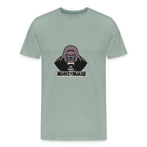 MonkeyManAB Logo - Men's Premium T-Shirt