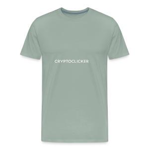 CryptoClickerText - Men's Premium T-Shirt