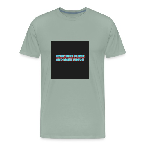 Subs and video - Men's Premium T-Shirt