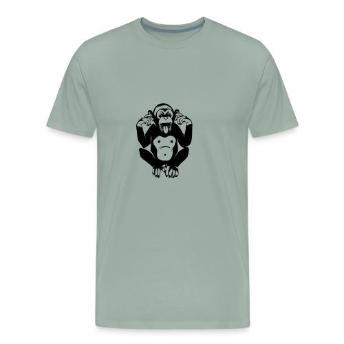 CheekyMonkey - Men's Premium T-Shirt